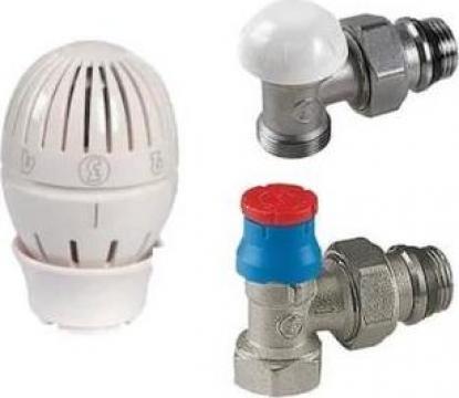 Kit robinet retur si tur termostatic Giacomini