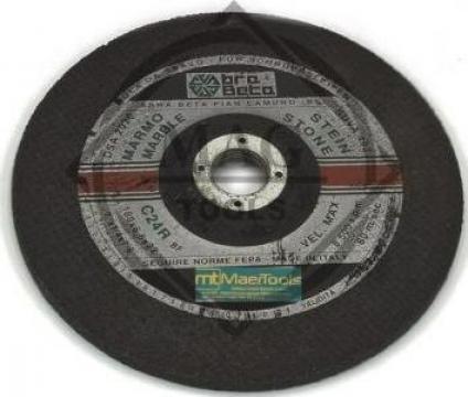 Disc polizare piatra 180 x 6,5 x 22 mm C24R