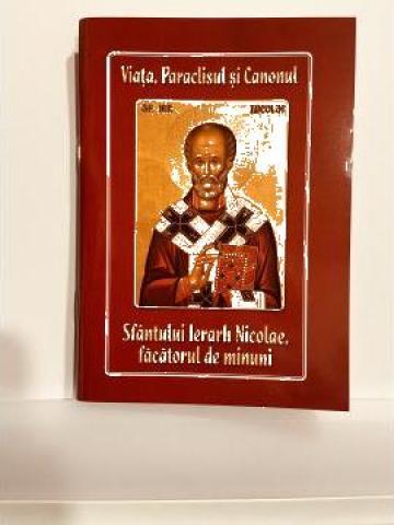 Carte, Viata, Paraclisul si Canonul Sfantului Nicolae de la Candela Criscom Srl.