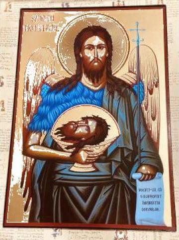 Icoana Sfantul Ioan Botezatorul 26.5cm de la Candela Criscom Srl.