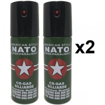 Spray Nato paralizant de buzunar cu piper