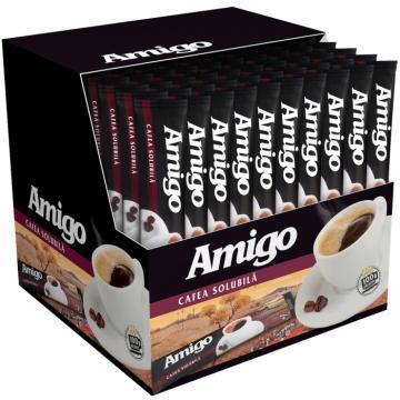 Cafea solubila instant plic Amigo 100x1.8g de la KraftAdvertising Srl