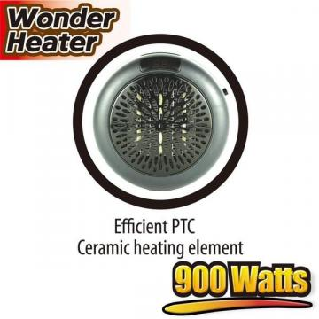 Aeroterma portabila Wonder Heater 900W cu display digital