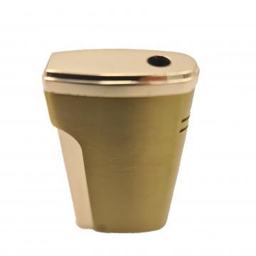 Bricheta metalica, gaz, antivant, cutie, auriu de la Dali Mag Online Srl