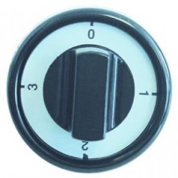 Buton comutator cu 4 pozitii, 76 mm, ax 6x4,6 mm