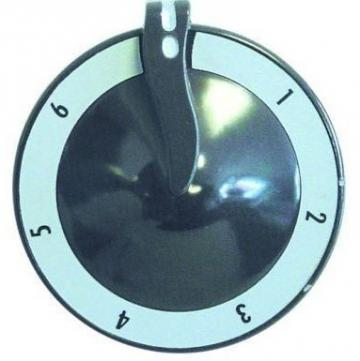 Buton robinet de gaz cu 7 pozitii, 70 mm, ax 6x4,6 mm