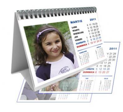 Calendar personalizat de birou CALP006 de la Apia Prest Srl