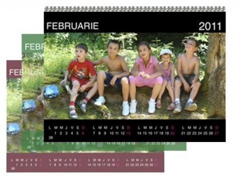 Calendar personalizat de perete CALP011 de la Apia Prest Srl