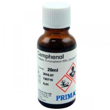 Solutie pentru dezinfectarea canalului radicular Camphenol