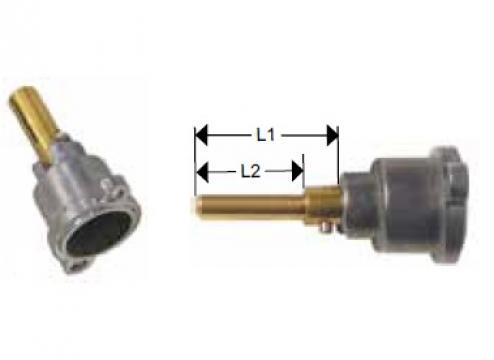 Cap robinet gaz PEL 21 lungime ax 22/15mm de la Kalva Solutions Srl