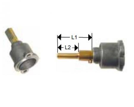 Cap robinet gaz PEL 22, lungime ax 39/7mm de la Kalva Solutions Srl