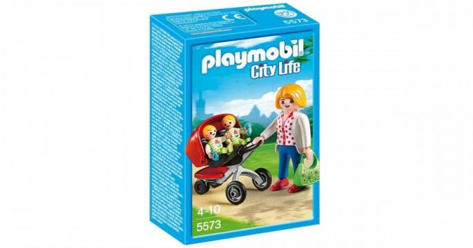 Jucarie Carucior cu gemeni Playmobil 5573