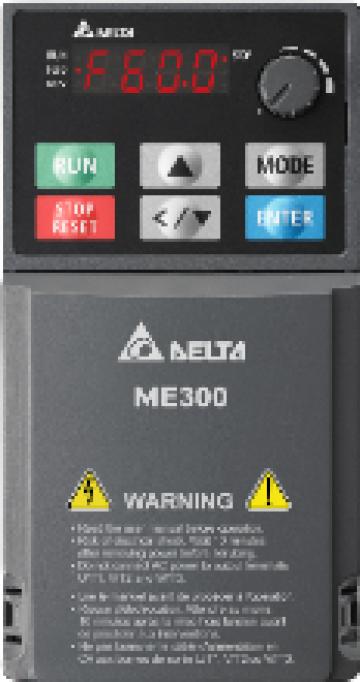 Convertizor frecventa VFD-MS300 1,5Kw / 4.2A