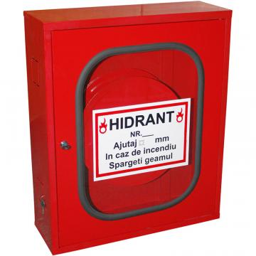 Cutie hidrant interior, neechipata, cu geam si cheder