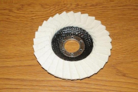 Disc lamelar frontal 115x22, pasla alba de la Tehnic Depo Srl