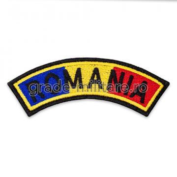 Ecuson drapel semirotund Romania de la Hyperion Trade