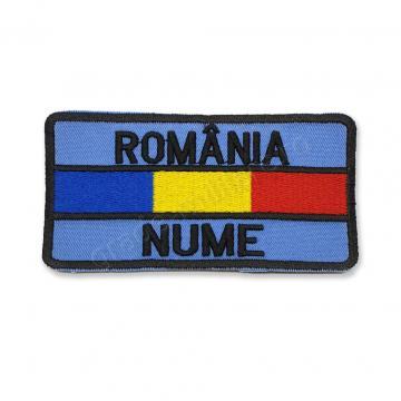 Ecuson nominal cu Romania si drapel Forte Aeriene de la Hyperion Trade