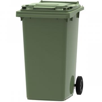 Europubela verde 240 litri colectare deseuri din sticla de la Sirius Distribution Srl