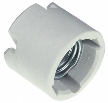 Fasung ceramic E27, 4A/750V 359919 de la Kalva Solutions Srl