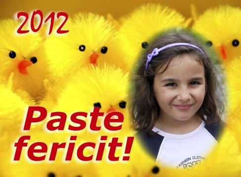 Felicitari de Paste personalizate FP001 de la Apia Prest Srl
