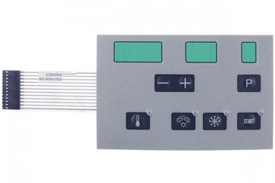 Folie tastatura pentru uscator 7 butoane