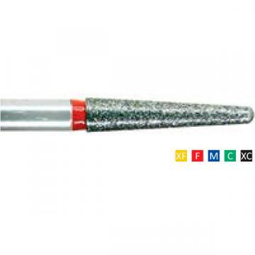 Freze dentare diamantate Round End Taper 198 F 016/017