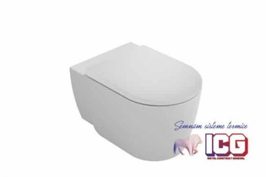 Vas wc Gala Coral suspendat Rimless 55,5x36,5 cm