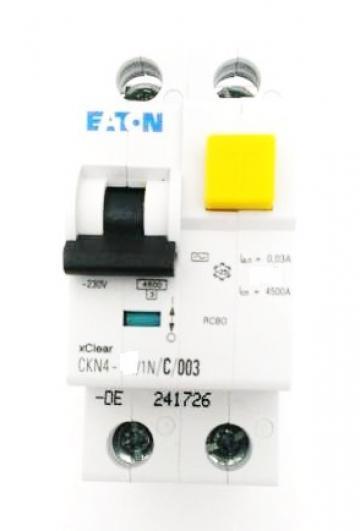 Intrerupator automat diferential 1P+N, 25A Eaton CKN4-25 de la Kalva Solutions Srl