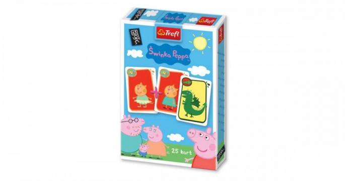 Joc de carti Pacalici Peppa Pig de la Pepita.ro