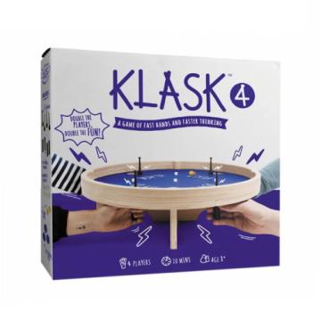 Joc magnetic de societate Klask 4, pentru 4 jucatori de la Arca Hobber Srl