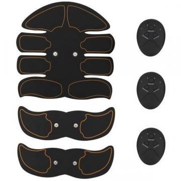 Kit Smart Fitness EMS electrostimulare corporala cu 8 paduri
