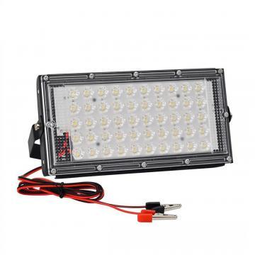 Lampa de lucru cu 50 LED-uri SMD, alimentare prin clesti 12V de la On Price Market Srl