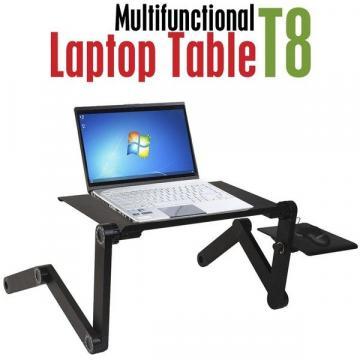 Masuta reglabila si pliabila pentru laptop T8 cu 2 coolere de la Startreduceri Exclusive Online Srl - Magazin Online - Cadour