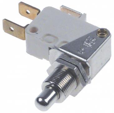 Microintrerupator cu piston 10A, 1CO, M10x0.75, L=28mm