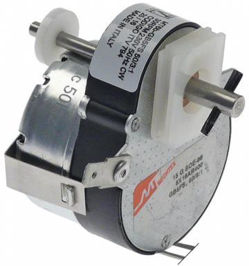 Motoreductor Crouzet SJ-1219-10, 64mmx51mmx40mm