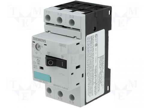 Motorstarter/disjunctor Siemens 3RV1011-1JA10