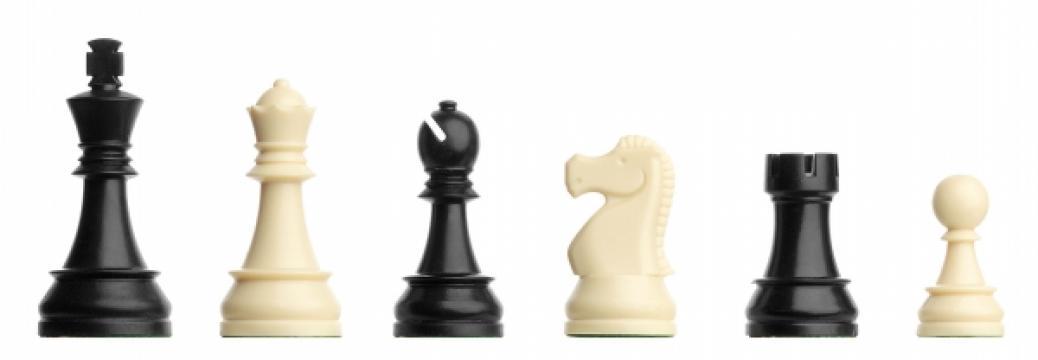 Piese de sah din plastic Staunton 6 - DGT de turneu de la Chess Events Srl