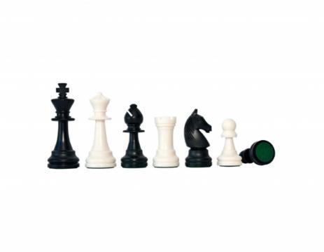 Piese plastic sah Staunton 6 - new design de la Chess Events Srl