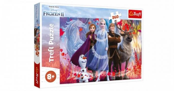 Puzzle Frozen 2 din 260 piese Trefl de la Pepita.ro