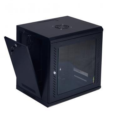 Rack cabinet de podea 47U, D:800x1000x2287 mm, 80 kg, negru