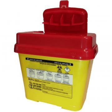Recipient 2.3 litri, plastic, deseuri intepatoare / taioase de la Sirius Distribution Srl