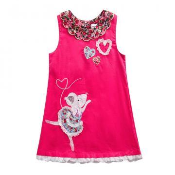 Rochita eleganta Balerina, bumbac roz