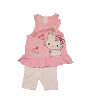 Compleu tunica si pantaloni fetite, Charmmy Kitty de la A&P Collections Online Srl-d