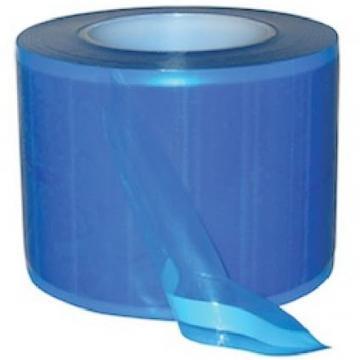 Rola film protectie, albastra-transparent, 1200 folii