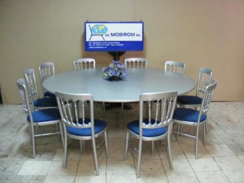 Set mobilier pentru evenimente masa si 10 scaune Mills de la Mobirom