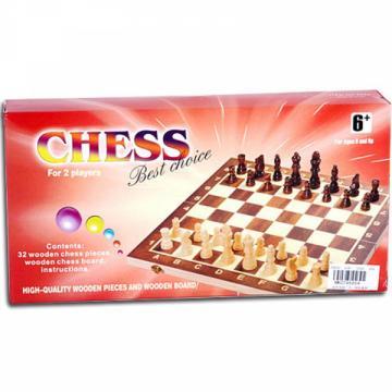 Set Sah din lemn mediu de la Chess Events Srl