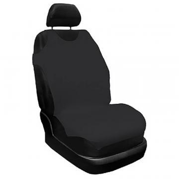 Set husa scaun, maieu, negru 2 buc., Carmax