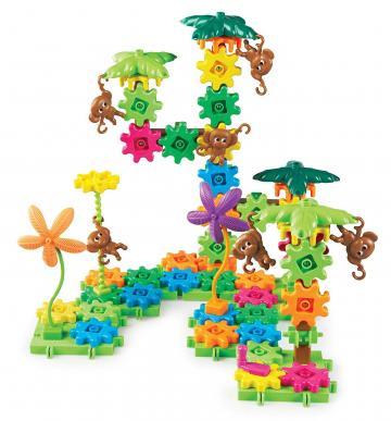 Joc setul constructorului - maimutele buclucase