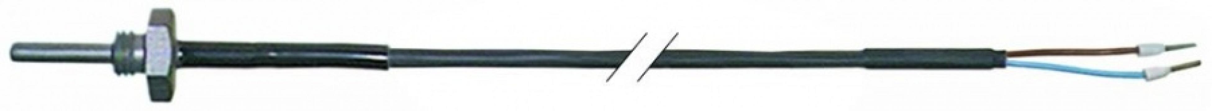Sonda de temperatura Pt10 cablu silicon