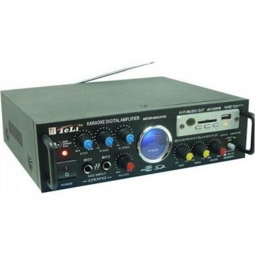 Statie amplificare karaoke cu MP3 si radio AV-339FM, stereo
